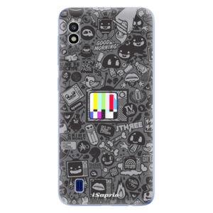 Odolné silikónové puzdro iSaprio - Text 03 - Samsung Galaxy A10