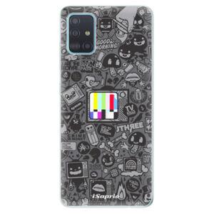 Odolné silikónové puzdro iSaprio - Text 03 - Samsung Galaxy A51