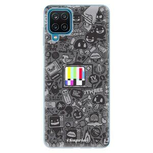 Odolné silikónové puzdro iSaprio - Text 03 - Samsung Galaxy A12
