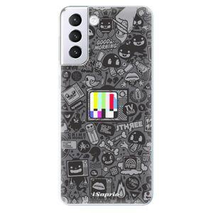 Odolné silikónové puzdro iSaprio - Text 03 - Samsung Galaxy S21+