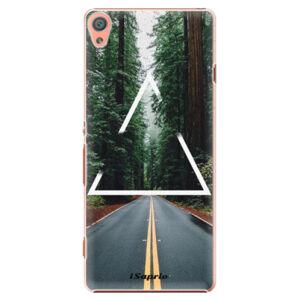 Plastové puzdro iSaprio - Triangle 01 - Sony Xperia XA