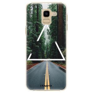 Plastové puzdro iSaprio - Triangle 01 - Samsung Galaxy J6