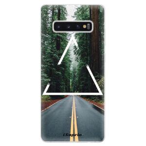 Odolné silikonové pouzdro iSaprio - Triangle 01 - Samsung Galaxy S10+