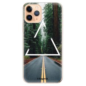 Odolné silikónové puzdro iSaprio - Triangle 01 - iPhone 11 Pro