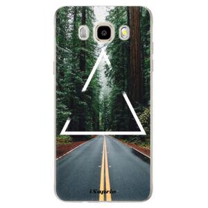 Odolné silikónové puzdro iSaprio - Triangle 01 - Samsung Galaxy J5 2016