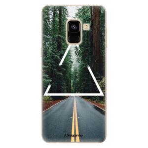 Odolné silikónové puzdro iSaprio - Triangle 01 - Samsung Galaxy A8 2018