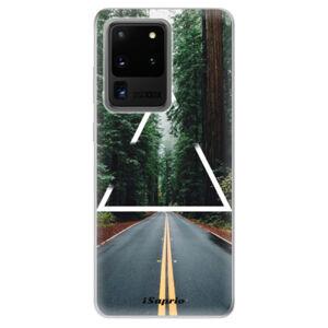 Odolné silikónové puzdro iSaprio - Triangle 01 - Samsung Galaxy S20 Ultra