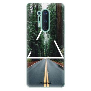 Odolné silikónové puzdro iSaprio - Triangle 01 - OnePlus 8 Pro