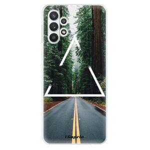 Odolné silikónové puzdro iSaprio - Triangle 01 - Samsung Galaxy A32 5G