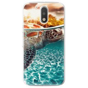 Plastové puzdro iSaprio - Turtle 01 - Lenovo Moto G4 / G4 Plus