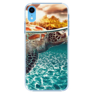 Plastové puzdro iSaprio - Turtle 01 - iPhone XR