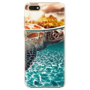 Plastové puzdro iSaprio - Turtle 01 - Huawei Honor 7S