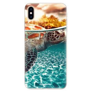 Silikónové puzdro iSaprio - Turtle 01 - iPhone XS Max