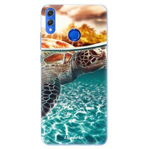 Silikónové puzdro iSaprio - Turtle 01 - Huawei Honor 8X