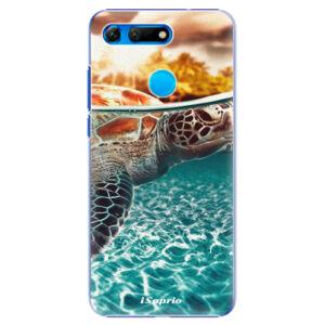 Plastové puzdro iSaprio - Turtle 01 - Huawei Honor View 20