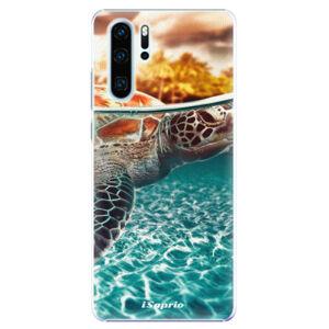 Plastové puzdro iSaprio - Turtle 01 - Huawei P30 Pro