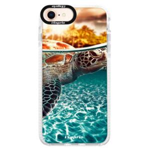 Silikónové púzdro Bumper iSaprio - Turtle 01 - iPhone 8