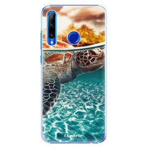 Plastové puzdro iSaprio - Turtle 01 - Huawei Honor 20 Lite