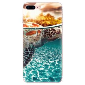 Odolné silikónové puzdro iSaprio - Turtle 01 - iPhone 7 Plus