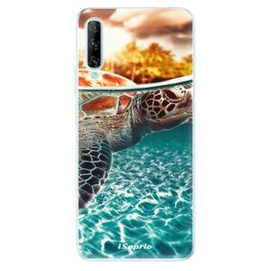 Odolné silikónové puzdro iSaprio - Turtle 01 - Huawei P Smart Pro