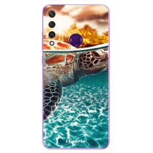 Odolné silikónové puzdro iSaprio - Turtle 01 - Huawei Y6p