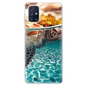 Odolné silikónové puzdro iSaprio - Turtle 01 - Samsung Galaxy M31s
