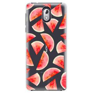 Plastové puzdro iSaprio - Melon Pattern 02 - Nokia 3.1