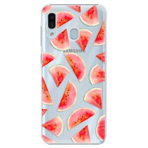 Plastové puzdro iSaprio - Melon Pattern 02 - Samsung Galaxy A20