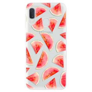 Odolné silikónové puzdro iSaprio - Melon Pattern 02 - Samsung Galaxy A20e