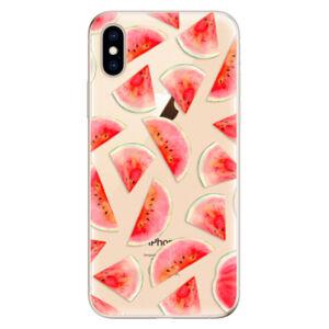 Odolné silikónové puzdro iSaprio - Melon Pattern 02 - iPhone XS