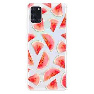 Odolné silikónové puzdro iSaprio - Melon Pattern 02 - Samsung Galaxy A21s