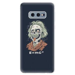 Odolné silikonové pouzdro iSaprio - Einstein 01 - Samsung Galaxy S10e