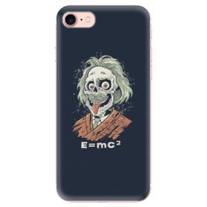 Odolné silikónové puzdro iSaprio - Einstein 01 - iPhone 7