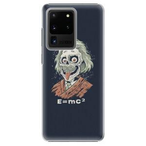Plastové puzdro iSaprio - Einstein 01 - Samsung Galaxy S20 Ultra