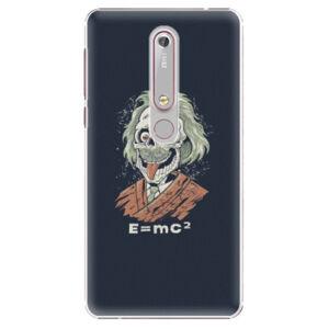 Plastové puzdro iSaprio - Einstein 01 - Nokia 6.1