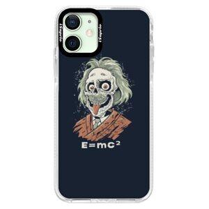 Silikónové puzdro Bumper iSaprio - Einstein 01 - iPhone 12 mini