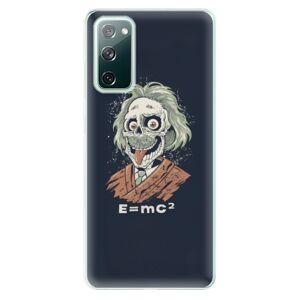 Odolné silikónové puzdro iSaprio - Einstein 01 - Samsung Galaxy S20 FE