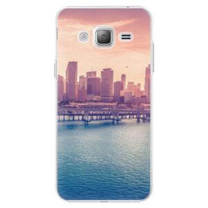 Plastové puzdro iSaprio - Morning in a City - Samsung Galaxy J3