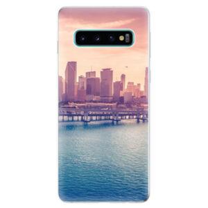 Odolné silikonové pouzdro iSaprio - Morning in a City - Samsung Galaxy S10