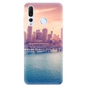 Odolné silikonové pouzdro iSaprio - Morning in a City - Huawei Nova 4