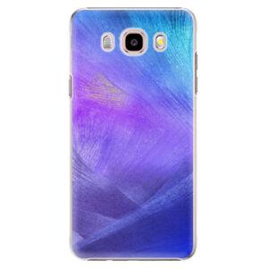 Plastové puzdro iSaprio - Purple Feathers - Samsung Galaxy J5 2016