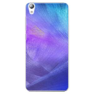 Plastové puzdro iSaprio - Purple Feathers - Lenovo S850