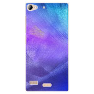Plastové puzdro iSaprio - Purple Feathers - Lenovo Vibe X2