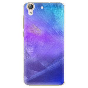 Plastové puzdro iSaprio - Purple Feathers - Huawei Y6 II