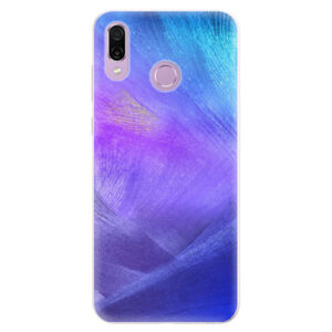 Silikónové puzdro iSaprio - Purple Feathers - Huawei Honor Play