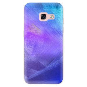 Odolné silikónové puzdro iSaprio - Purple Feathers - Samsung Galaxy A3 2017