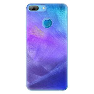 Odolné silikónové puzdro iSaprio - Purple Feathers - Huawei Honor 9 Lite