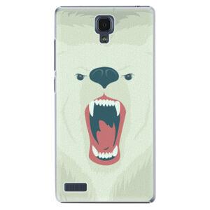 Plastové puzdro iSaprio - Angry Bear - Xiaomi Redmi Note