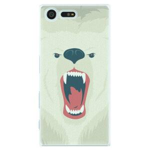 Plastové puzdro iSaprio - Angry Bear - Sony Xperia X Compact