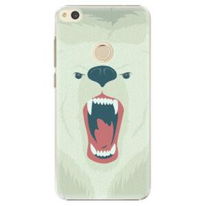 Plastové puzdro iSaprio - Angry Bear - Huawei P8 Lite 2017